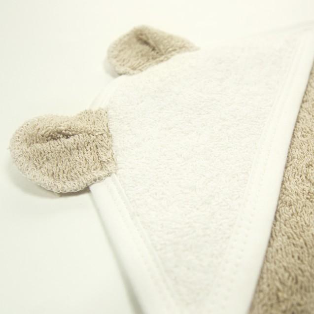 Махровое полотенце с уголком Choco