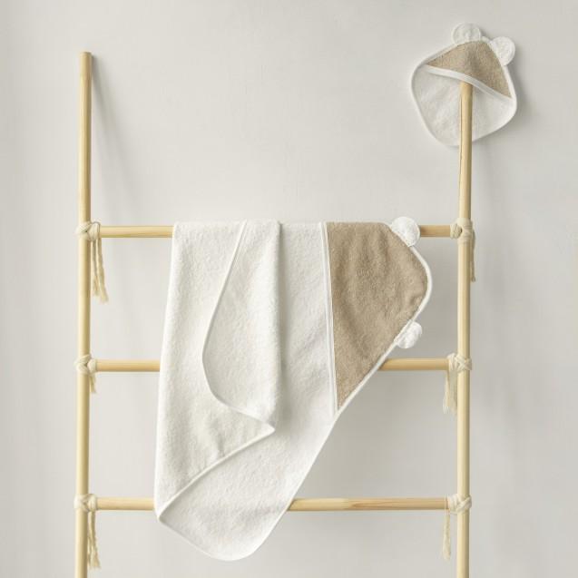 Детское полотенце с уголком Milk