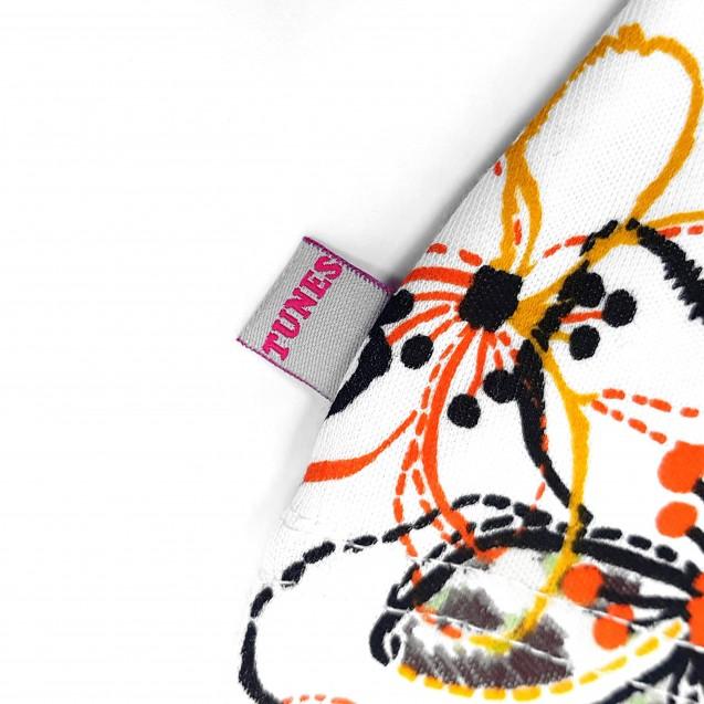 Шапочка с узелком для девочки Flower