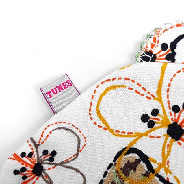 Шапочка з вушками для дівчинки Flower