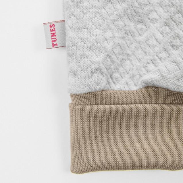 Теплый комбинезон с капюшоном для ребенка Mocco
