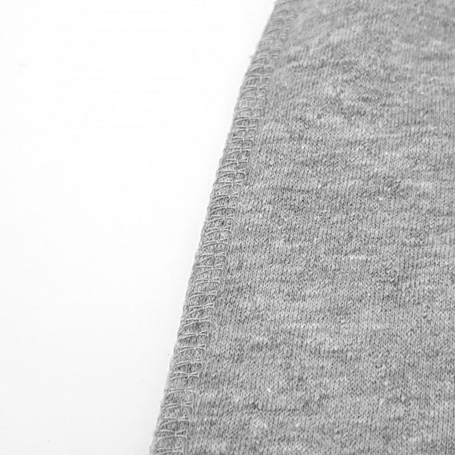 Теплый серый человечек для новорожденного Gray