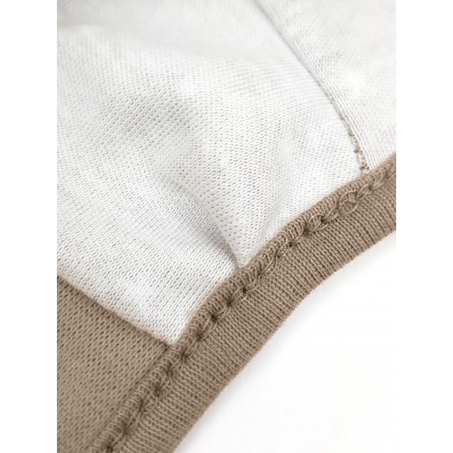Чепчик на завязках Mocco с наружными швами