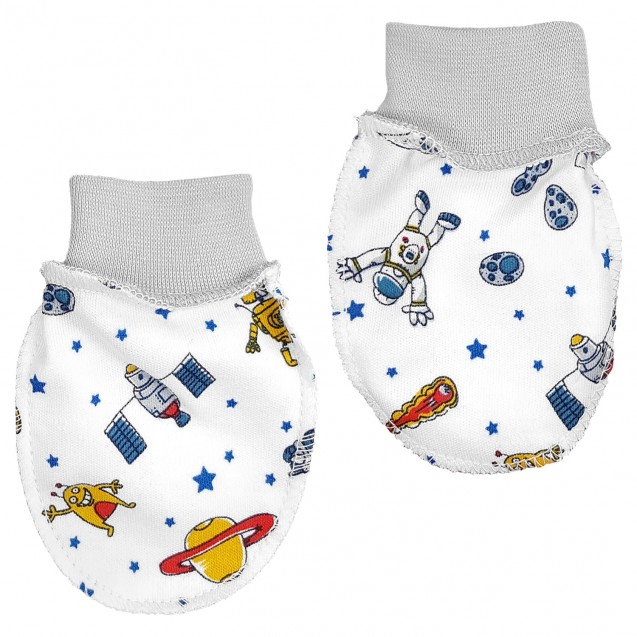 Рукавички для новорожденного Space
