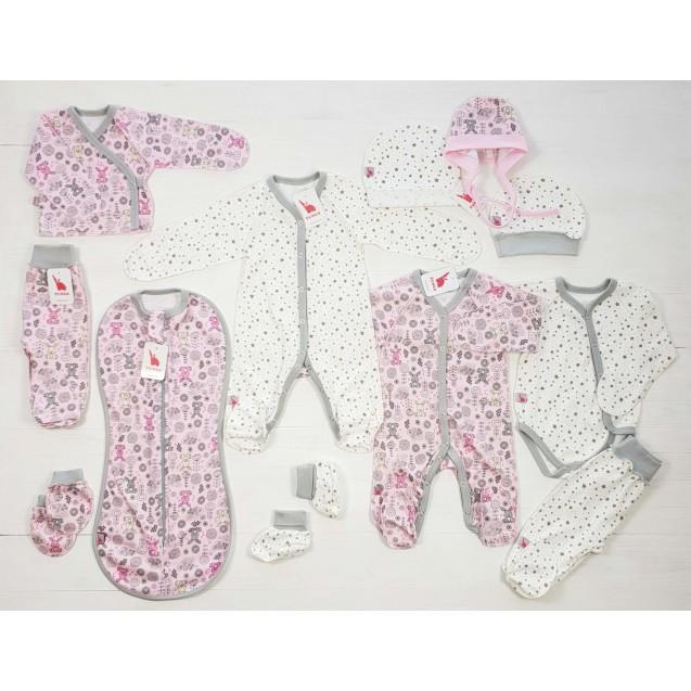 Базовый набор в роддом для девочки 12в1 Bunny