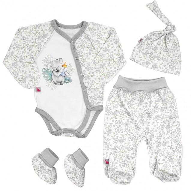 Комплект для новорожденных Коала 4в1
