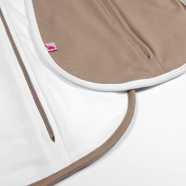 Набор пеленок коконов для сна на молнии Choco и Milk