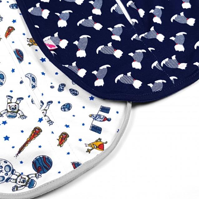 Комплект пелюшок на блискавці для новонародженого York та Space