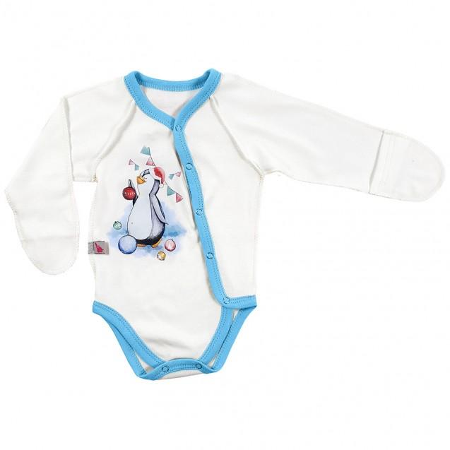 Новорічний бодік для малят Пінгвіша