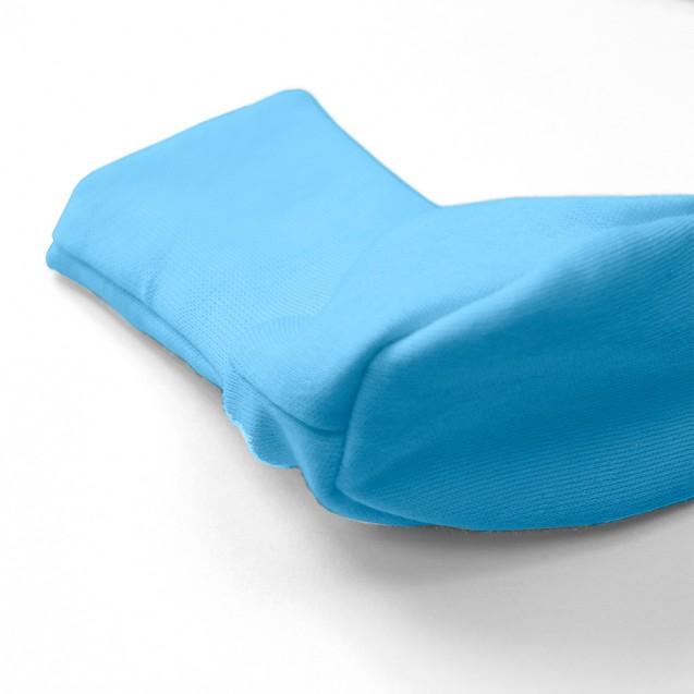 Однотонные пинетки голубого цвета Frosty