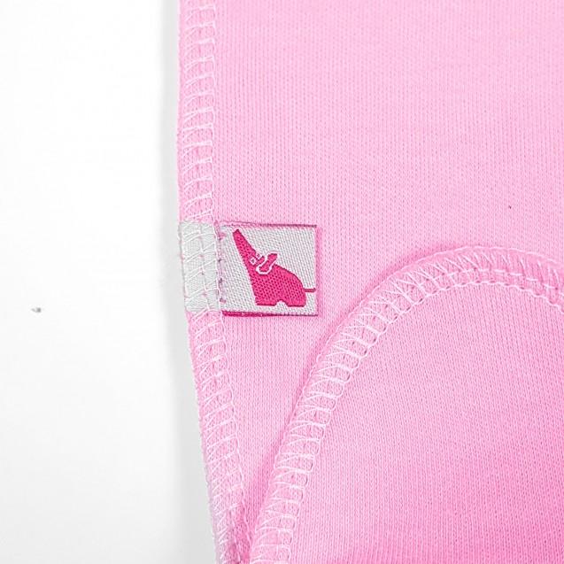 Однотонные розовые ползуны Rose для новорожденных девочек