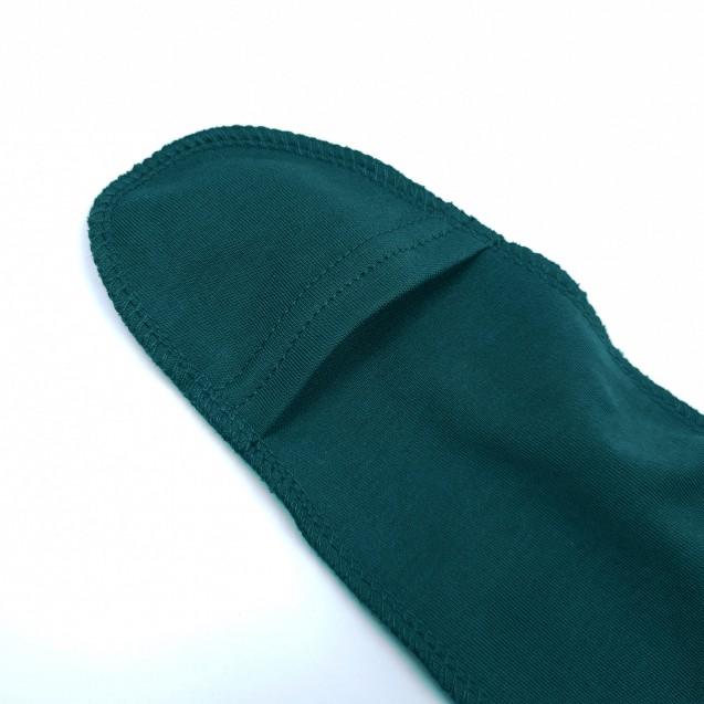 Чоловічок для новонароджених в стильному кольорі Emerald