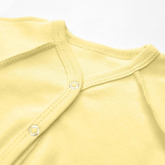 Однотонный желтый боди Lemon