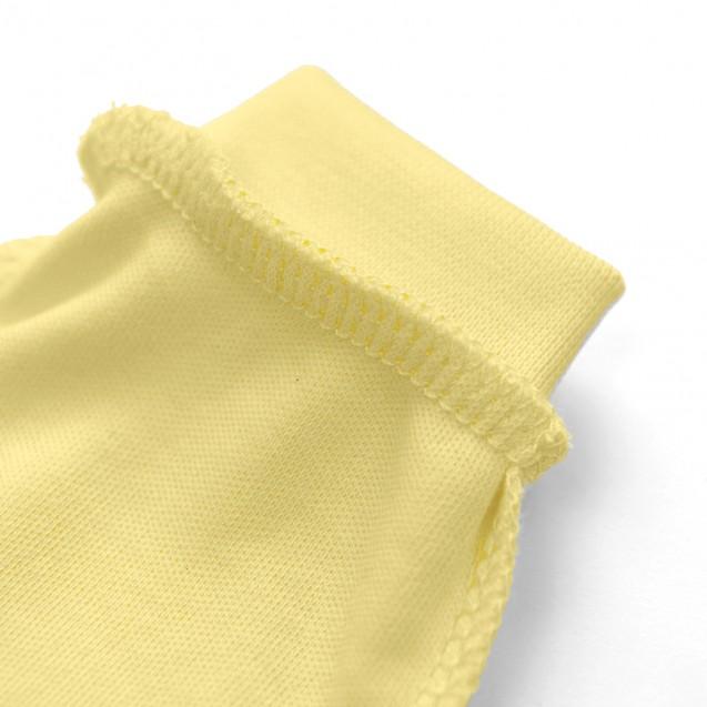 Однотонные желтые нецарапки Lemon