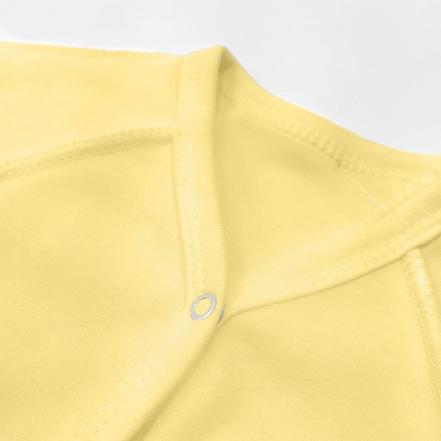 Хлопковый однотонный человечек Lemon