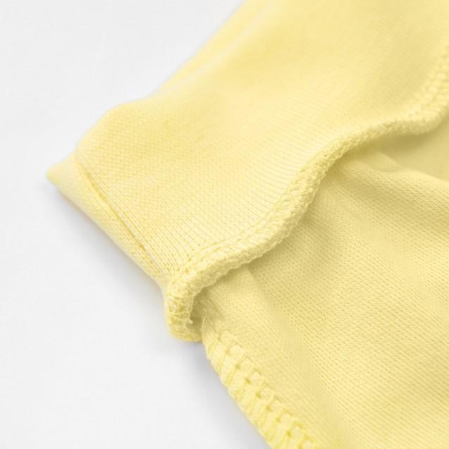 Желтые однотонные ползунки Lemon