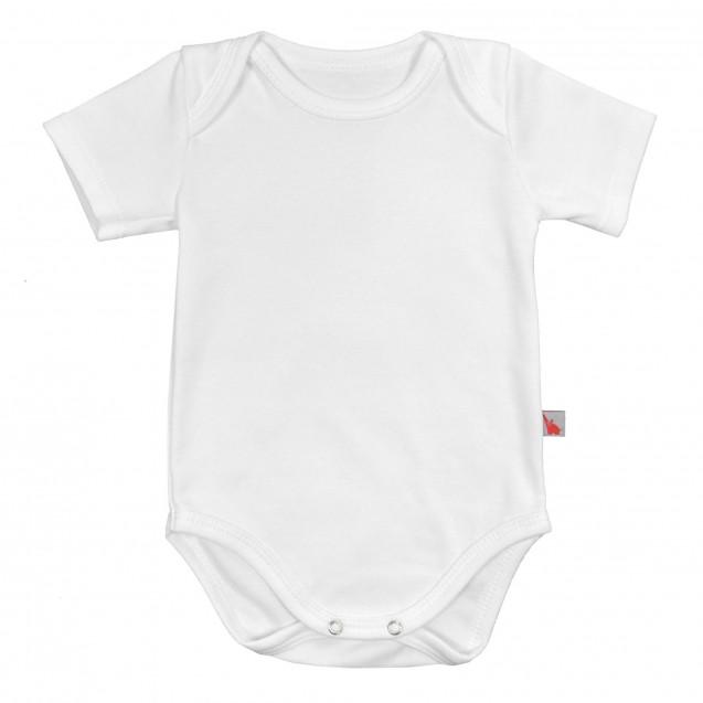 Боди с коротким рукавом для малышей до года Milk