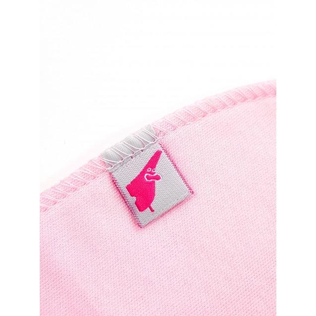 Рожева шапочка з підворотом Rose