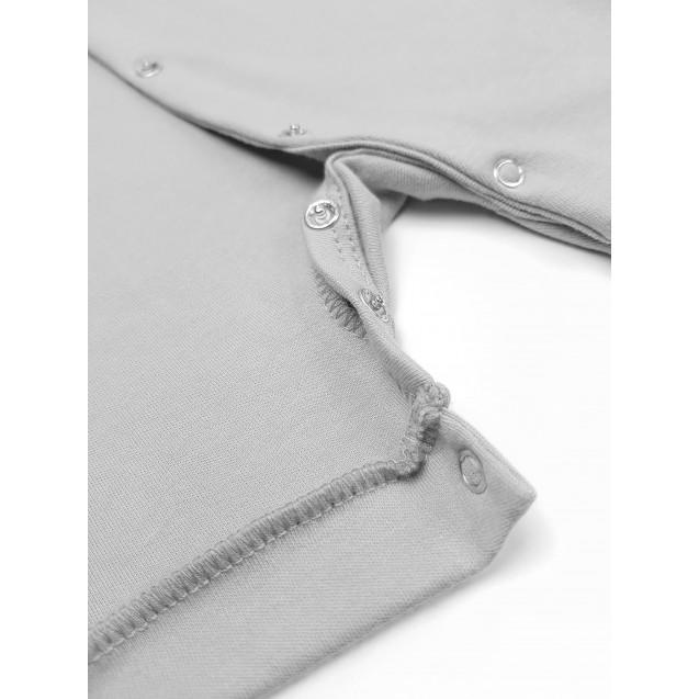 Серый однотонный песочник Gray