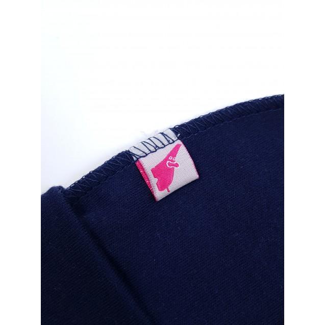 Шапочка синього кольору для новонародженого в пологовий будинок Night