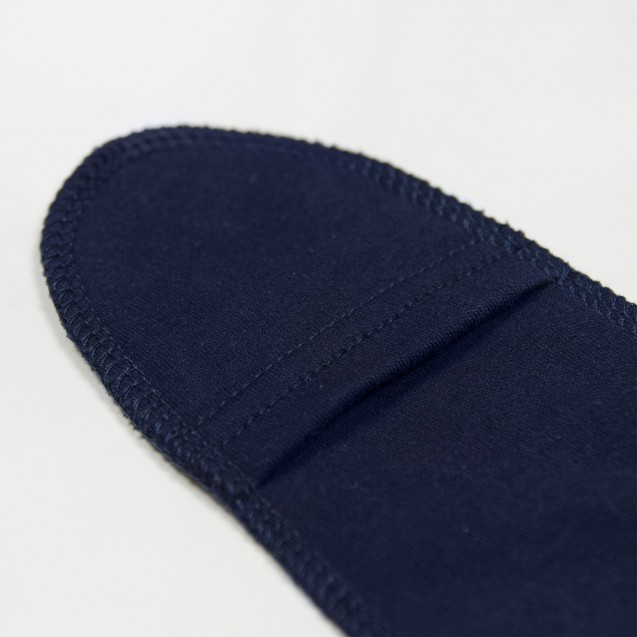 Темно-синий боди для новорожденного с рисунком гранат Night
