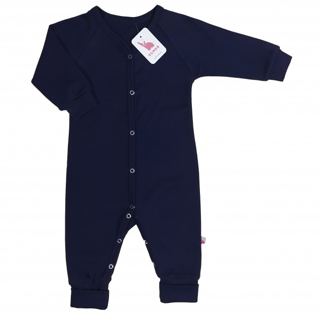 Слип пижама для ребенка от трех месяцев Navy