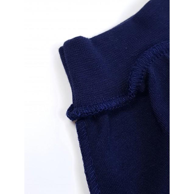 Однотонные синие ползунки Navy