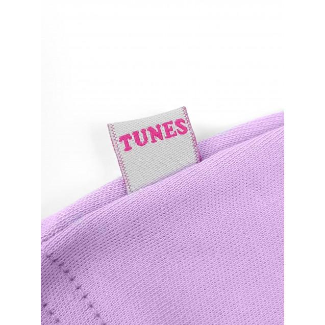 Шапочка з вузликом для дівчинки Purple