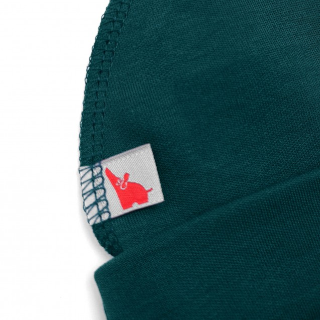 Базова однотонна шапочка Emerald