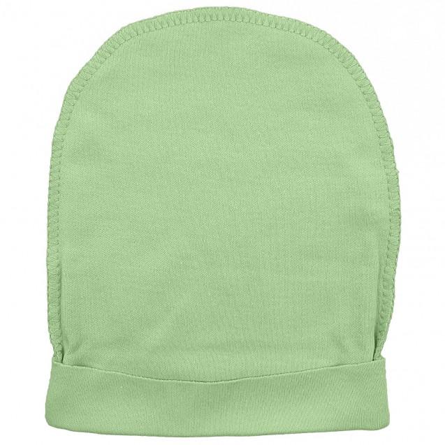 Шапочка с наружным швом для новорожденных Olive