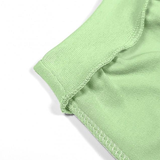 Однотонные зеленые ползуны Olive для новорожденных