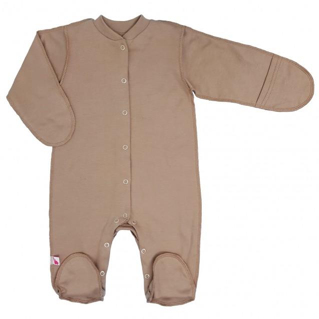 Теплый человечек с начесом для ребенка от рождения Choco