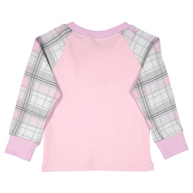 Детская пижама для девочки с аппликацией Котенок