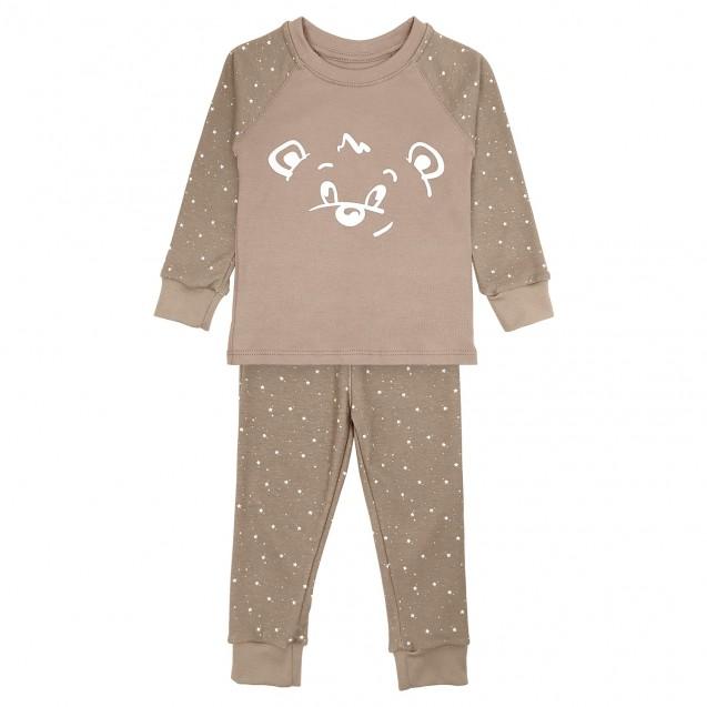 Дитяча піжама для сну та для дому Bear з принтом що світиться у темряві