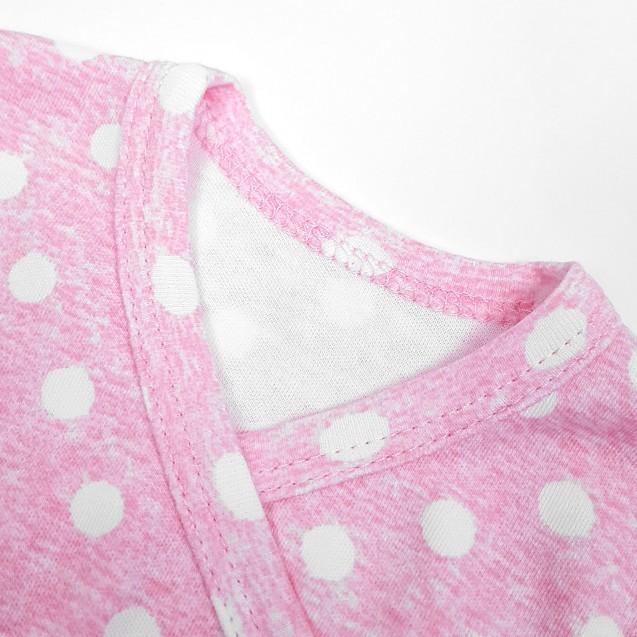 Боді для дівчинки в горошок Pink