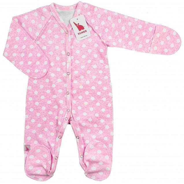 Человечек для новорожденной девочки Pink