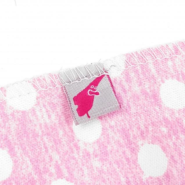 Ползунки с наружными швами Pink