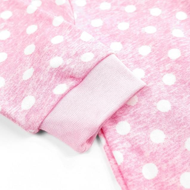 Чоловічок на блискавці Pink для дівчинки
