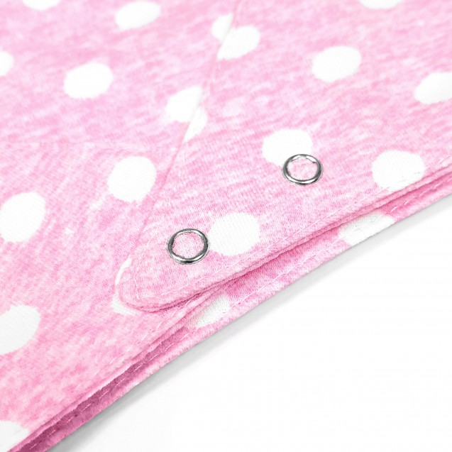 Слюнявчик для девочки Pink