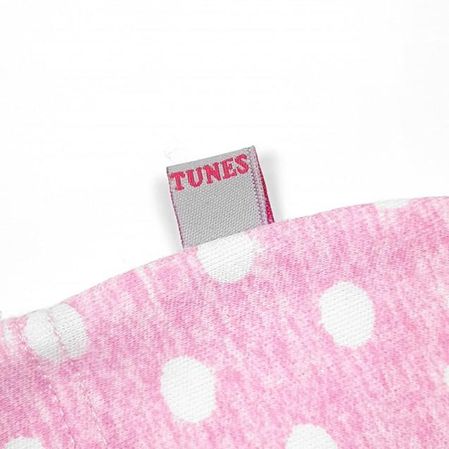 Шапочка с узелком для девочки Pink