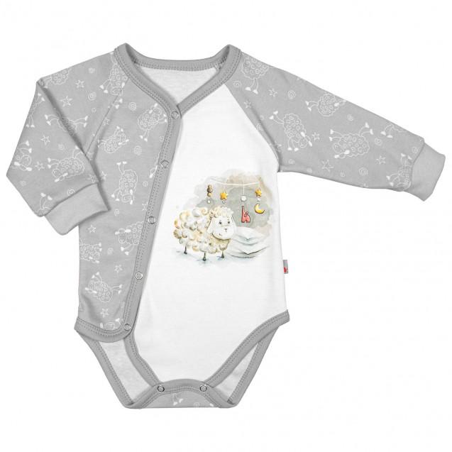 Боди для ребенка от трех месяцев с принтом овечка Sweet dream