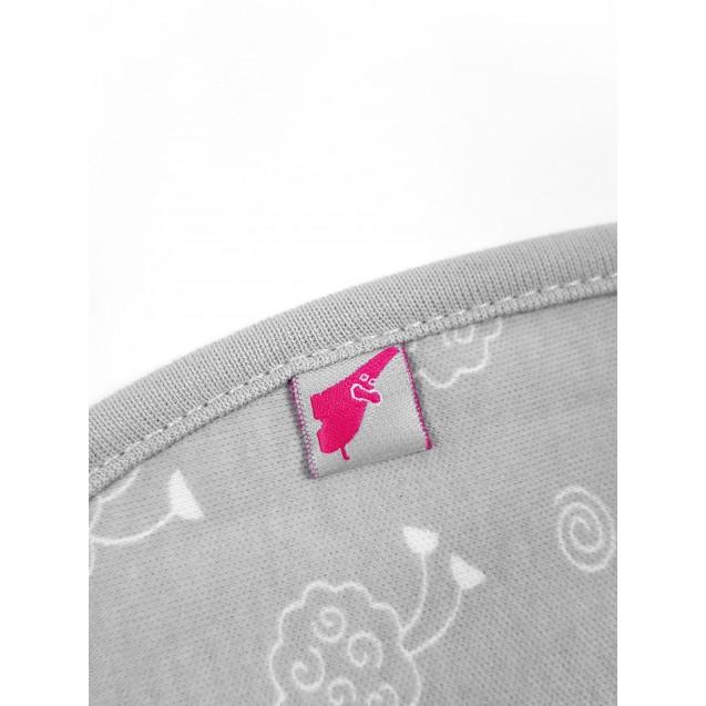 Евро пеленка кокон с кантом Sweet dream