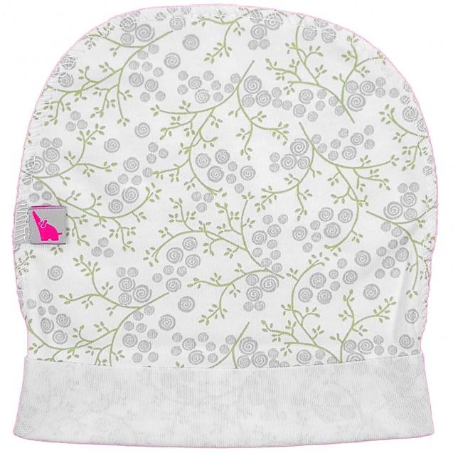 Базовая шапочка в роддом с наружным швом Blossom