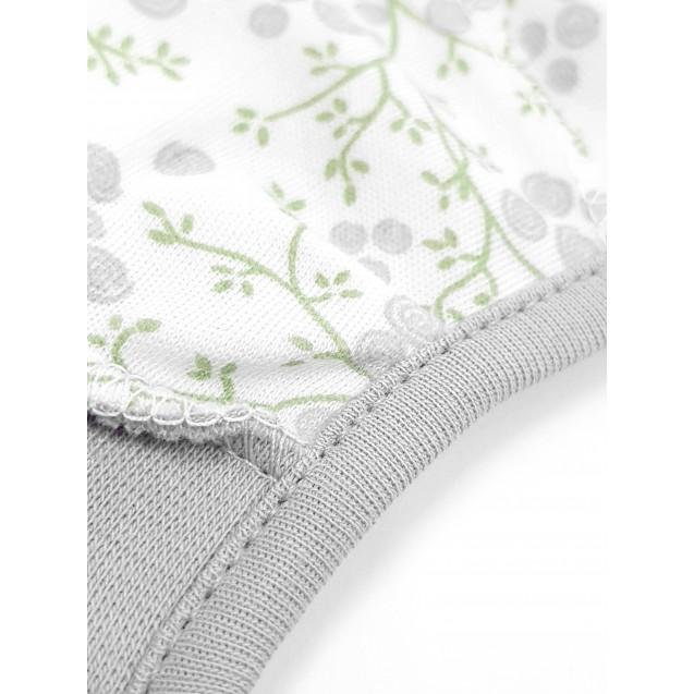 Шапочка на завязках с наружным швом Blossom