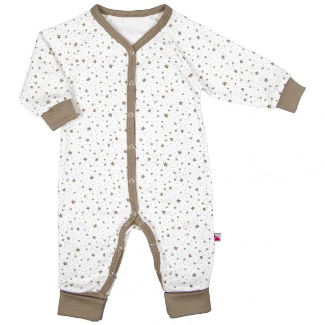 Чоловічок для дитини від трьох місяців з відкритими ніжками Cotton